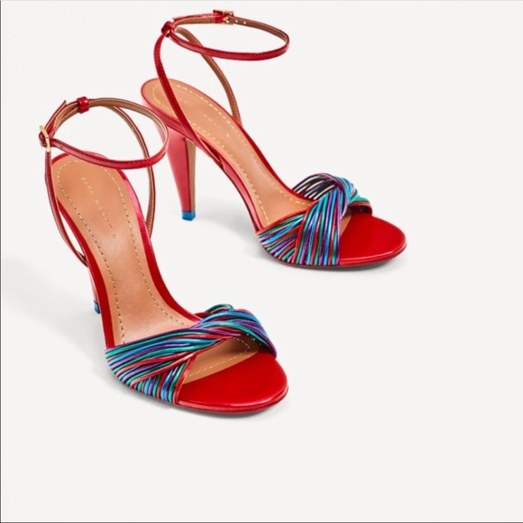 2d4f02dceed1c4 Zara Shoes - Colorful Zara Sandals Size 6 - Never Worn